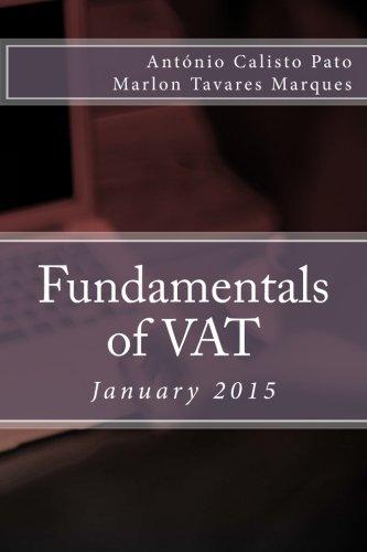 Fundamentals of VAT: January 2015: Calisto Pato, Antonio