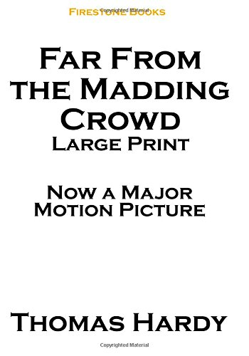 9781506130347: Far From the Madding Crowd: Large Print