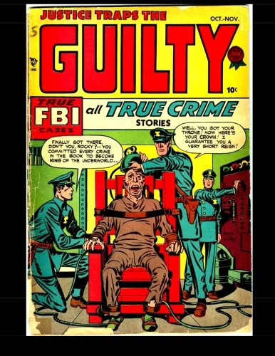 9781506133270: Justice Traps The Guilty #1: Golden Age Crime Comic