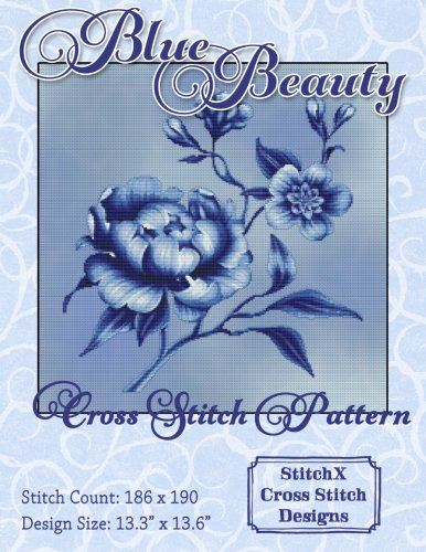 9781506148724: Blue Beauty Cross Stitch Pattern