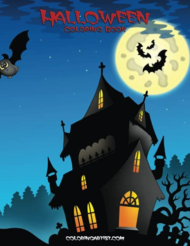 Halloween Coloring Book 1 (Volume 1): Snels, Nick
