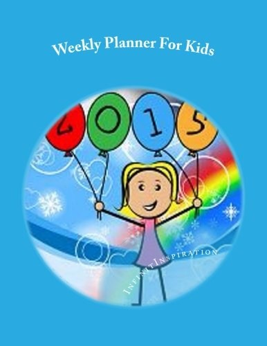 9781506195810: Weekly Planner For Kids