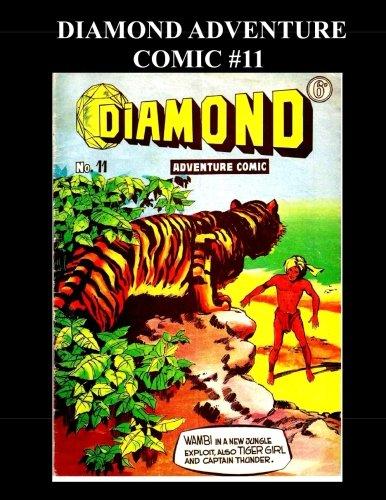 9781506196572: Diamond Adventure Comic #11 (B&W): Golden Age Jungle Adventure Comic
