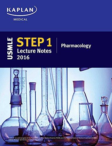 9781506200460: USMLE Step 1 Lecture Notes 2016: Pharmacology (Kaplan Test Prep)