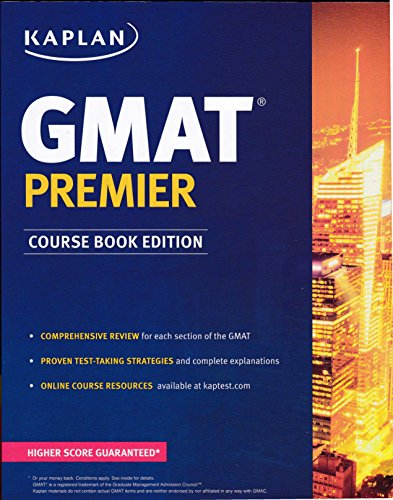 9781506200804: GMAT Premier: Course Book Edition