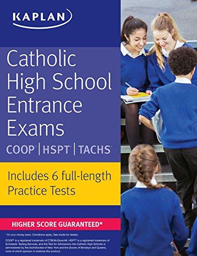 9781506203393: Catholic High School Entrance Exams: COOP * HSPT * TACHS (Kaplan Test Prep)