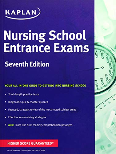 9781506207445: Nursing School Entrance Exams: General Review for the TEAS, HESI, PAX-RN, Kaplan, and PSB-RN Exams (Kaplan Test Prep)
