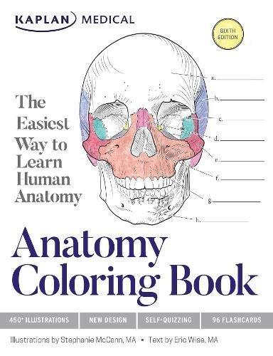 9781506208527: Anatomy Coloring Book (Kaplan Medical)