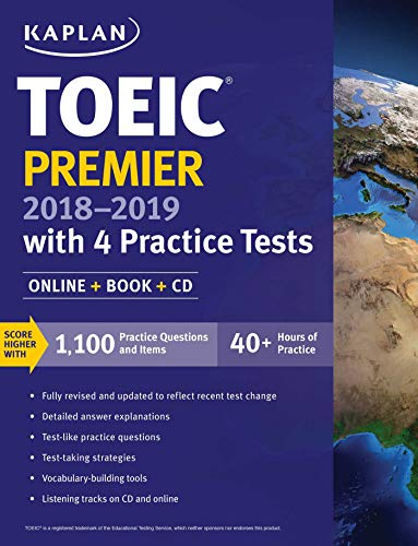 9781506208695: TOEIC Premier With 4 Practice Tests (Kaplan Test Prep)