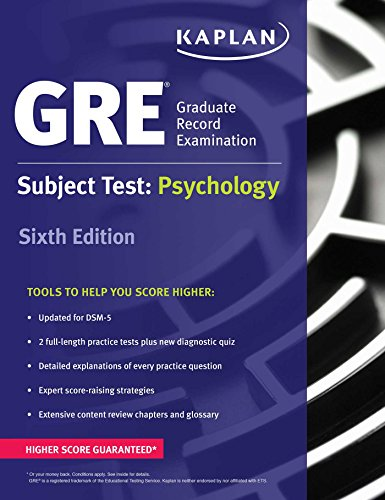 GRE Subject Test: Psychology (Kaplan Test Prep): Prep, Kaplan Test