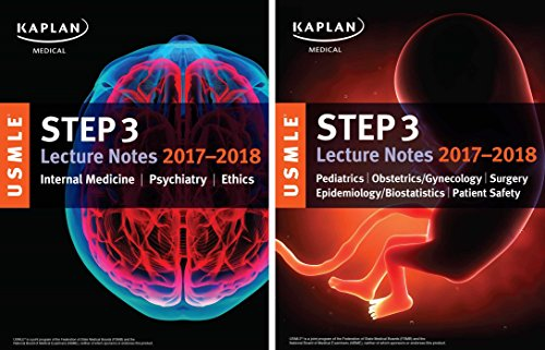9781506209685: USMLE Step 3 Lecture Notes 2017-2018: 2-Book Set (USMLE Prep)