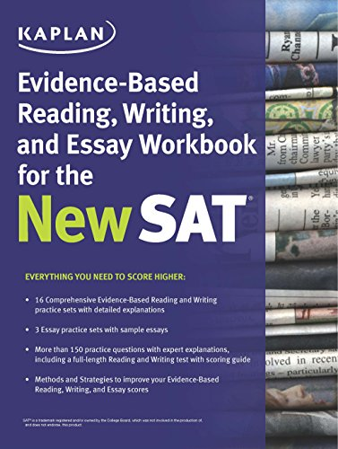 Best prep book for sat essay Coursework Sample - June 2019
