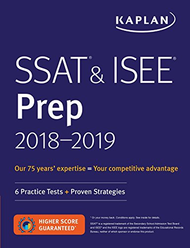 9781506221465: SSAT & ISEE Prep 2018-2019 (Kaplan Test Prep)