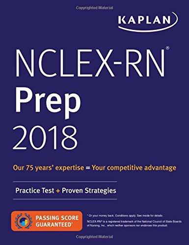 9781506233321: NCLEX-RN Prep 2018: Practice Test + Proven Strategies (Kaplan Test Prep)