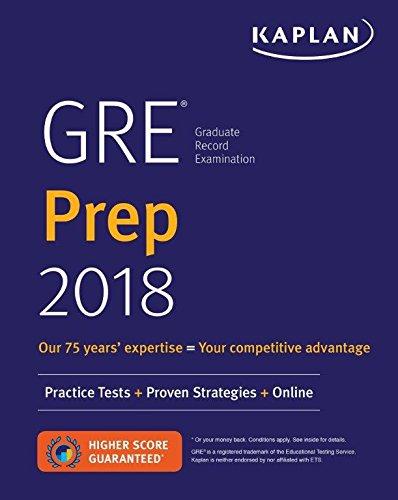 9781506234410: GRE Prep 2018: Practice Tests + Proven Strategies + Online
