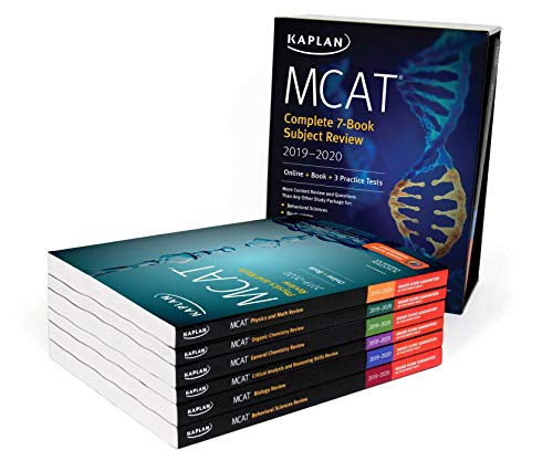 9781506235486: MCAT Complete 7-Book Subject Review 2019-2020: Online + Book + 3 Practice Tests