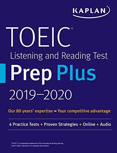 9781506238654: Kaplan Toeic Listening and Reading Test Prep Plus 2019-2020: 4 Practice Tests + Proven Strategies + Online + Audio