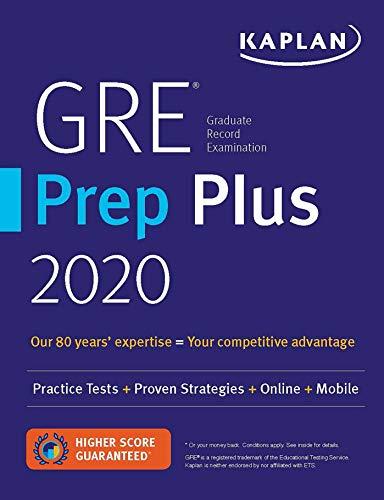 9781506248929: GRE Prep Plus 2020: Practice Tests + Proven Strategies + Online + Mobile: 6 Practice Tests + Proven Strategies + Online + Video + Mobile