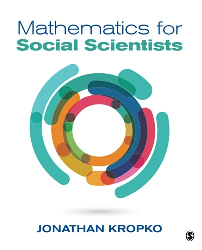9781506304212: Mathematics for Social Scientists