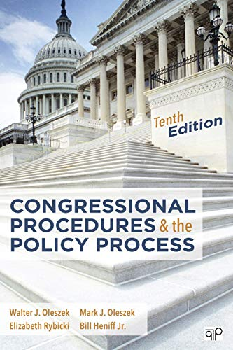 9781506304304: Congressional Procedures and the Policy Process
