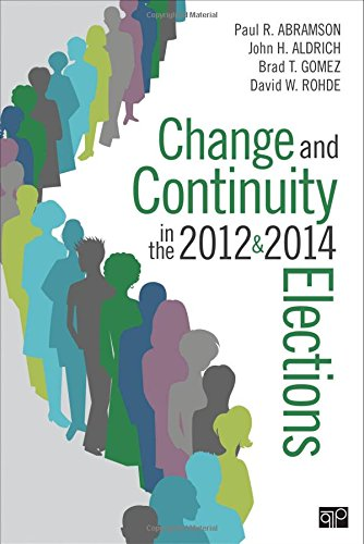 9781506305875: Change and Continuity in the 2012 and 2014 Elections