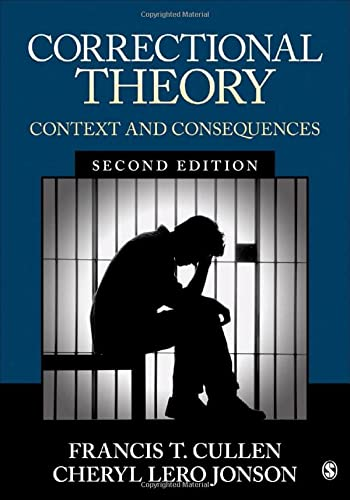9781506306520: Correctional Theory: Context and Consequences