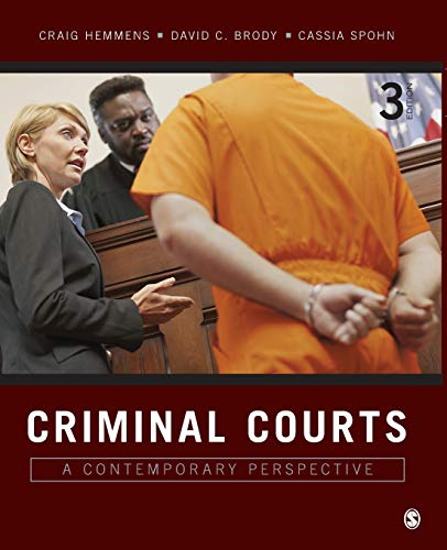 9781506306575: Criminal Courts: A Contemporary Perspective