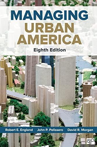 9781506310497: Managing Urban America