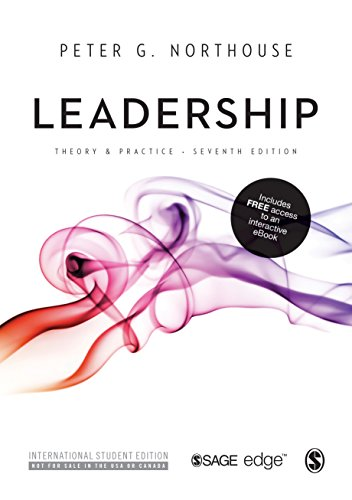 9781506311166: Leadership: Theory and Practice (International Student Edition)
