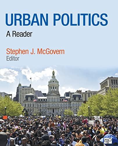 9781506311197: Urban Politics and Power: A Reader