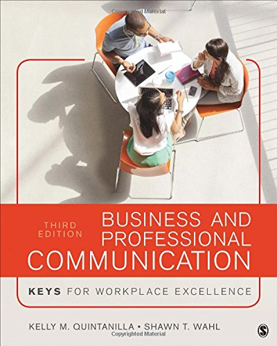 9781506315522: Business and Professional Communication: KEYS for Workplace Excellence