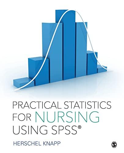 9781506325675: Practical Statistics for Nursing Using SPSS
