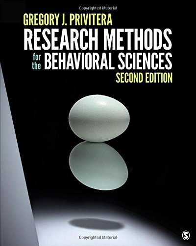 Behavioral Sciences: 9781506326573: Research Methods For The Behavioral