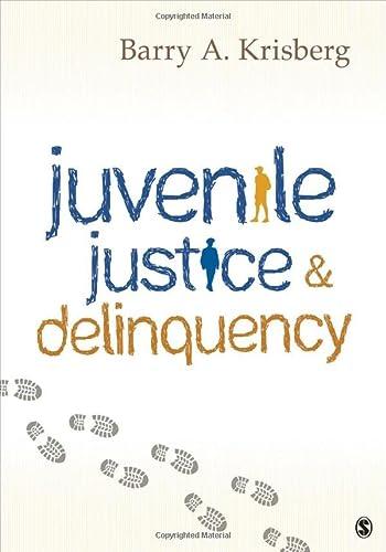 9781506329239: Juvenile Justice and Delinquency