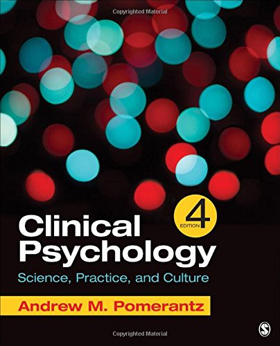 9781506333748: Clinical Psychology: Science, Practice, and Culture