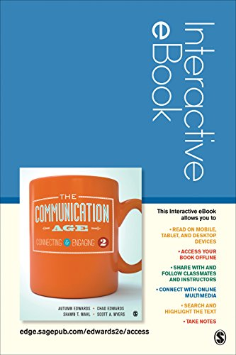 9781506337951: The Communication Age Interactive eBook: Connecting and Engaging