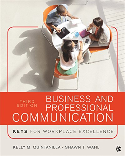 9781506341491: Business and Professional Communication: KEYS for Workplace Excellence