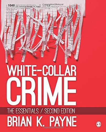 9781506344775: White-Collar Crime: The Essentials