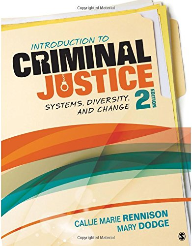 Download Introduction to Criminal Justice: Systems, Diversity, and Change