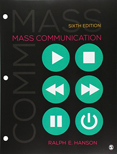 9781506358550: Mass Communication: Living in a Media World