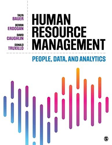 9781506363127: Human Resource Management: People, Data, and Analytics