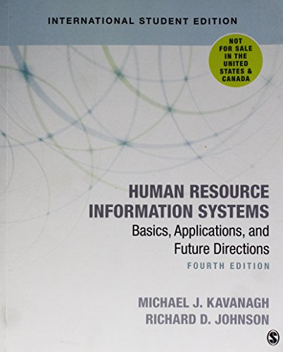 9781506386539: Human Resource Information Systems: Basics, Applications, and Future Directions