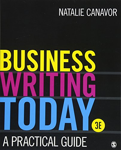 9781506388328: Business Writing Today: A Practical Guide