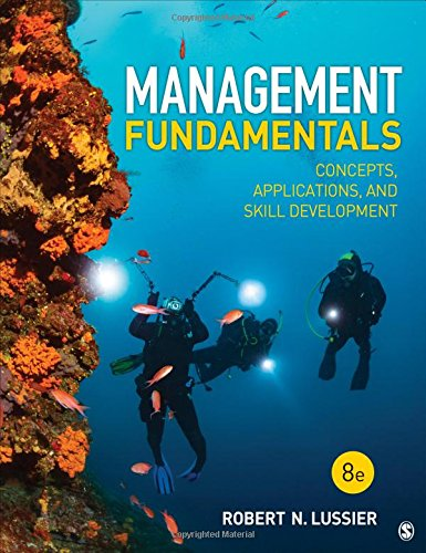 9781506389394: Management Fundamentals: Concepts, Applications, and Skill Development