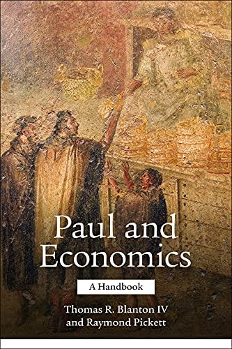 Paul and Economics: A Handbook: Fortress Press