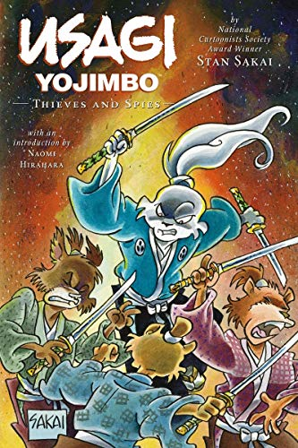 Usagi Yojimbo Volume 30: Thieves and Spies: Stan Sakai