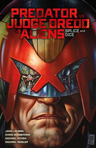 9781506701523: Predator Versus Judge Dredd Versus Aliens: Splice and Dice (Predator Vs Judge Dredd Vs Aliens)