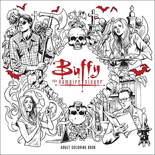 9781506702537 Buffy The Vampire Slayer Adult Coloring Book