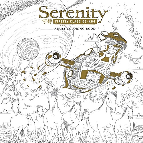 Serenity Adult Coloring Book: Fox