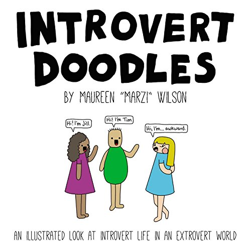 9781507200018: Introvert Doodles: An Illustrated Look at Introvert Life in an Extrovert World